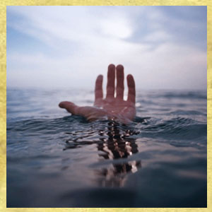 Help-Me-God. A Hand reaching for help from God