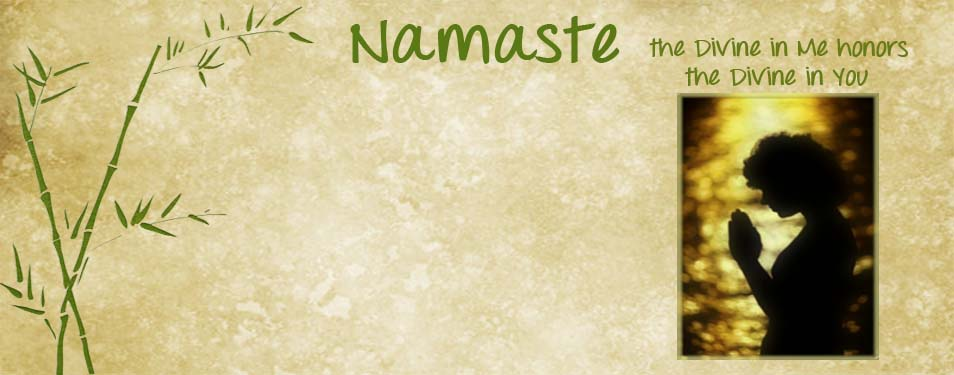 Welcome Namaste friends screen