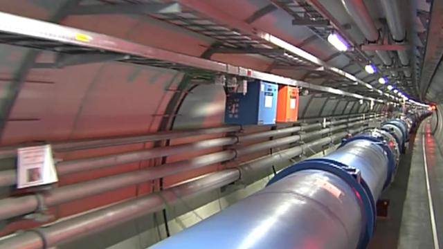 Large-Hadron-Collider in geneva